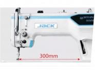JACK A6F - Stębnówka automatyczna z transportem ząbkowo-igłowym