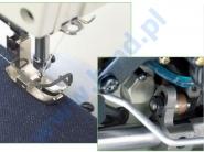 JUKI DLN 5410 H-7 - Stębnówka z transportem igłowym i automatyką do ciężkiego szycia