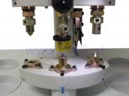 GLOBAL PFA - 03 Napownica pneumatyczna 3-głowicowa