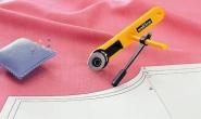 Nóż krążkowy 28mm OLFA RTY-1/C do patchworku, rozkroju, wykrojów i nie tylko. Do cięcia łuków