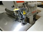 SIRUBA 737L -504M3-04 - Przemysłowy owerlok 3-nitkowy z silnikeim Direct Drive