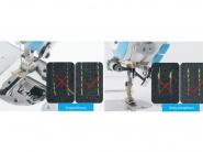 JACK A5-N (P/E) Stębnówka przemysłowa z odsysaniem i system zapobiegającym pętleniu nici