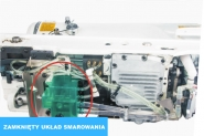JACK JK T2290D-SR - Przemysłowa maszyna do szycia typu Zig-Zag AUTOMAT