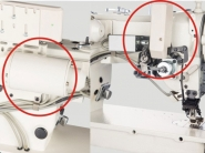 JACK JK 2284B Przemysłowa maszyna do szycia ściegiem ZygZak (Zik-Zak, ZygZak) oraz trójskok